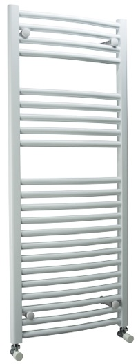 Chrome towel rail mail