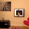 Art Modern bio fuel fire room set